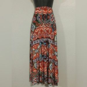 Honey And Lace Maxi Skirt Or Dress Small